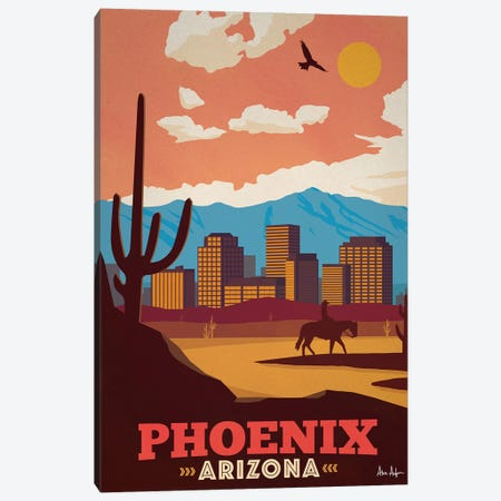 Phoenix Canvas Print #IDS44} by IdeaStorm Studios Art Print