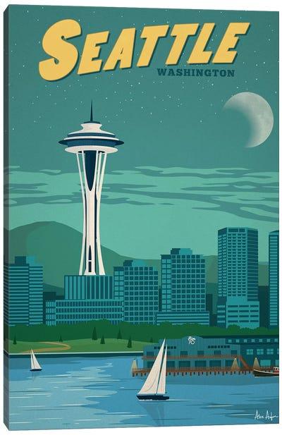 Seattle Canvas Art Print