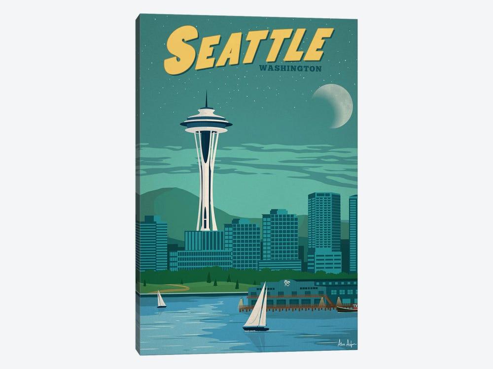 Seattle by IdeaStorm Studios 1-piece Canvas Artwork