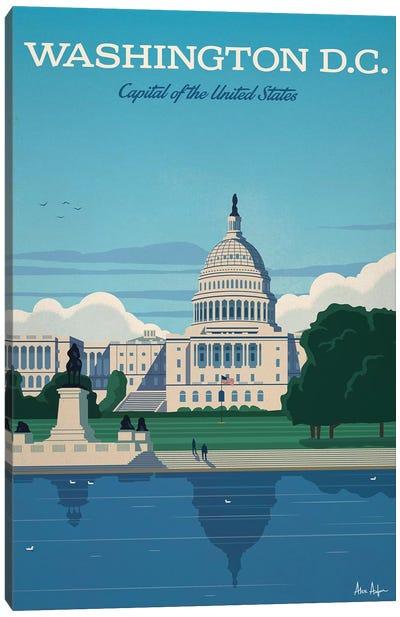 Washington D.C. Capitol Canvas Art Print