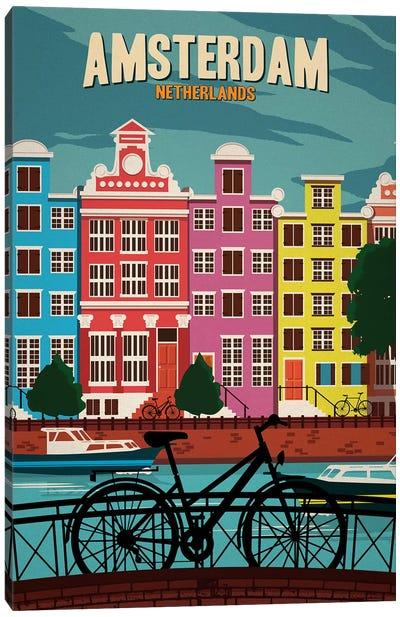 Amsterdam Canvas Art Print
