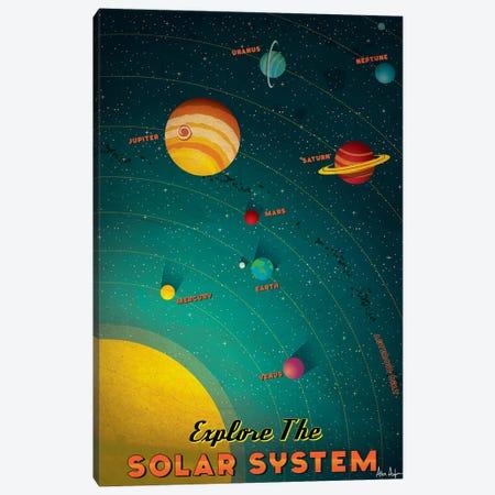Solar System Canvas Print #IDS52} by IdeaStorm Studios Canvas Print