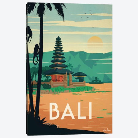 Bali Canvas Print #IDS59} by IdeaStorm Studios Canvas Print
