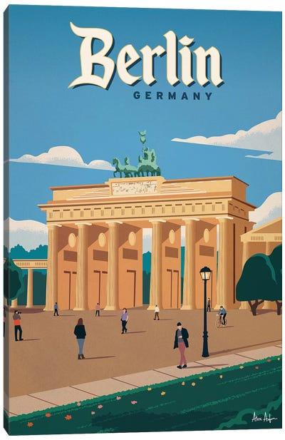 Brandenberg Gate Canvas Art Print