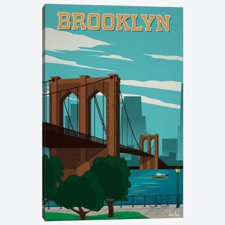 Brooklyn Canvas Print #IDS62} by IdeaStorm Studios Canvas Art
