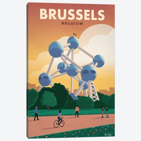 Brussels 3-Piece Canvas #IDS63} by IdeaStorm Studios Canvas Art