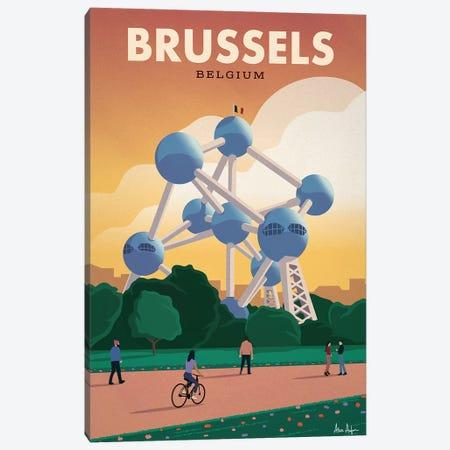 Brussels Canvas Print #IDS63} by IdeaStorm Studios Canvas Art