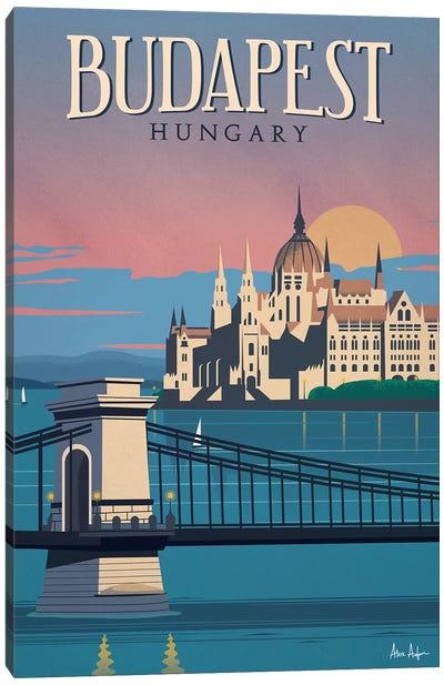 Budapest Canvas Art Print
