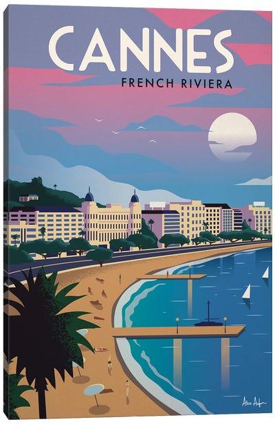 Cannes Canvas Art Print
