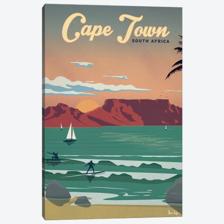Cape Town Canvas Print #IDS66} by IdeaStorm Studios Art Print