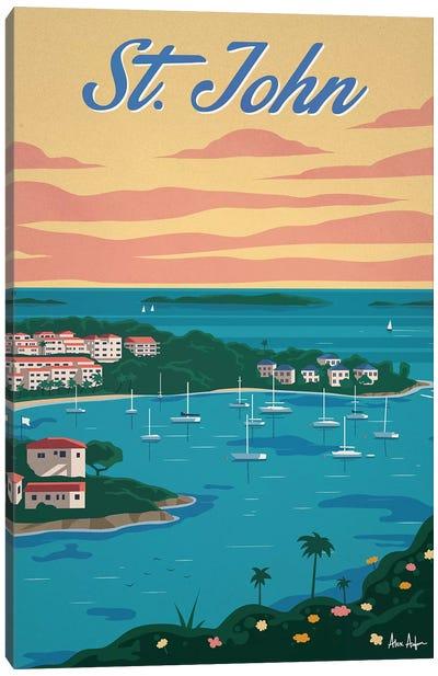 Cruz Bay Canvas Art Print