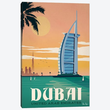 Dubai Canvas Print #IDS69} by IdeaStorm Studios Canvas Artwork