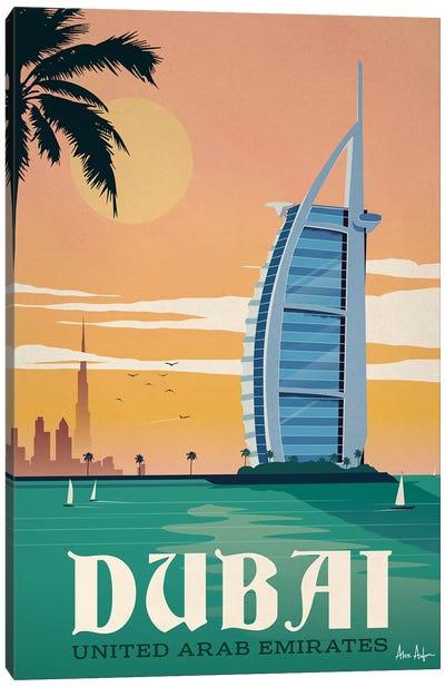 Dubai Canvas Art Print