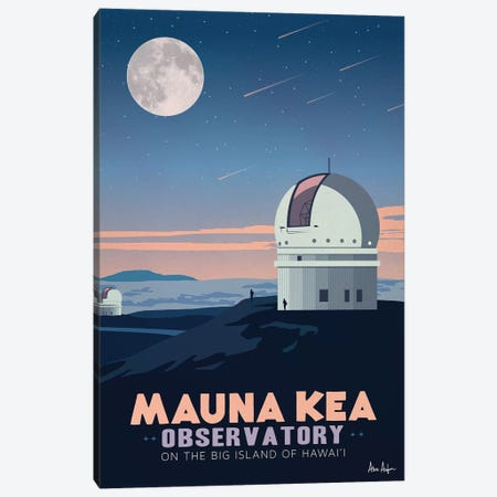 Mauna Kea Canvas Print #IDS70} by IdeaStorm Studios Canvas Print