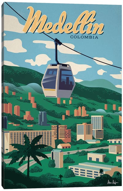 Medellin Canvas Art Print