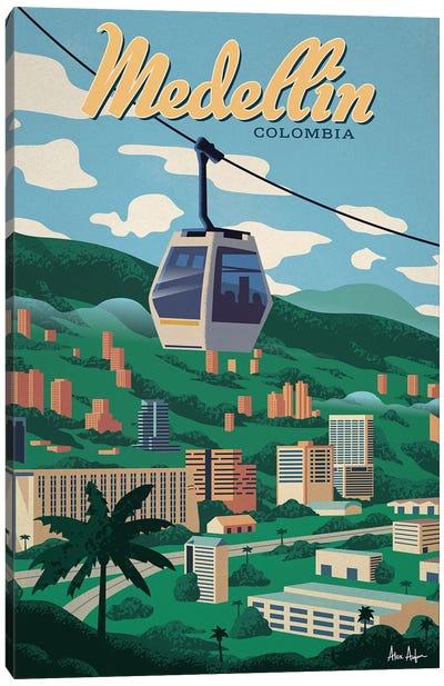Medellin Canvas Art Print