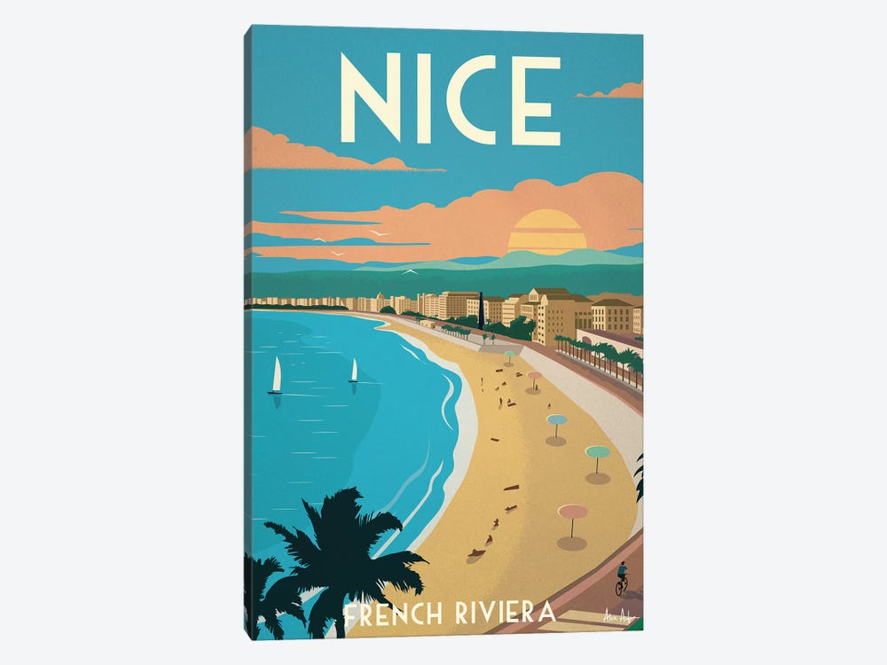 Nice by IdeaStorm Studios 1-piece Canvas Print