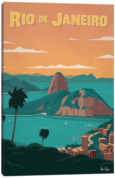 Rio De Janiero Canvas Art Print