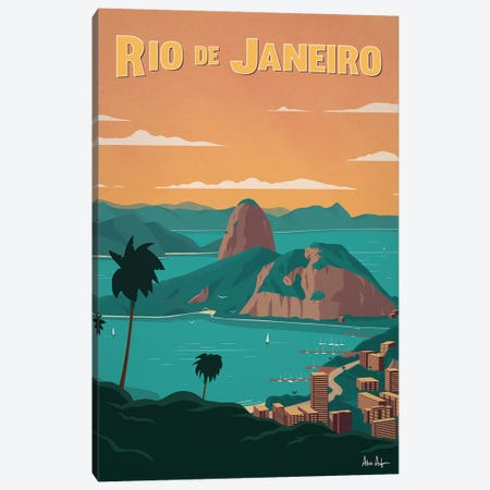 Rio De Janiero Canvas Print #IDS73} by IdeaStorm Studios Canvas Print