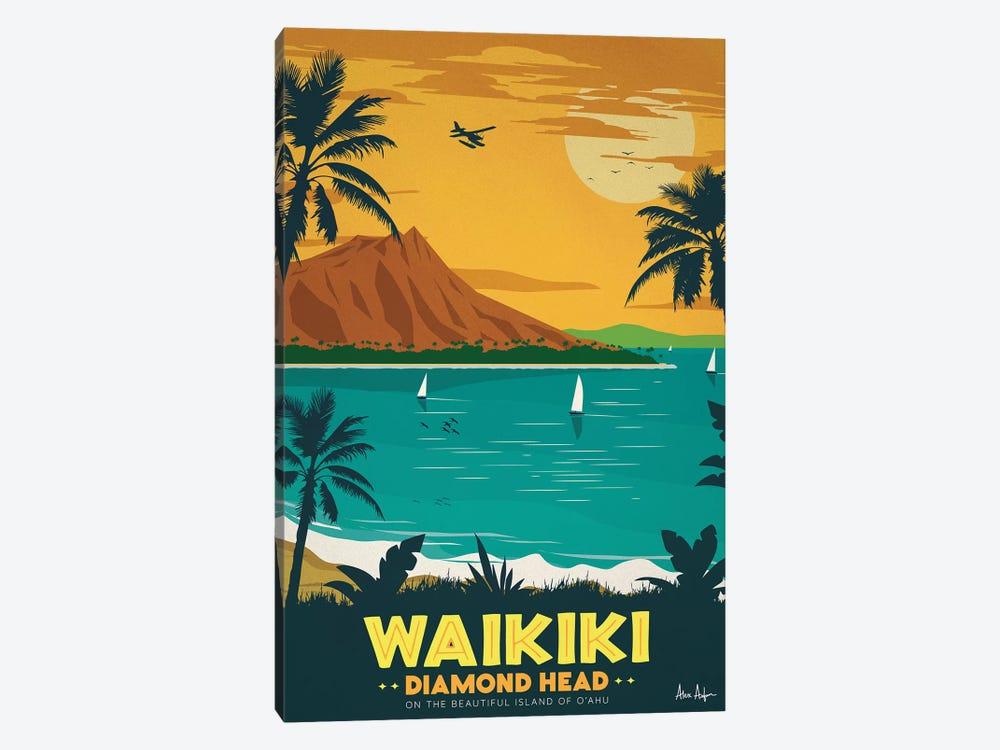 Waikiki by IdeaStorm Studios 1-piece Canvas Artwork