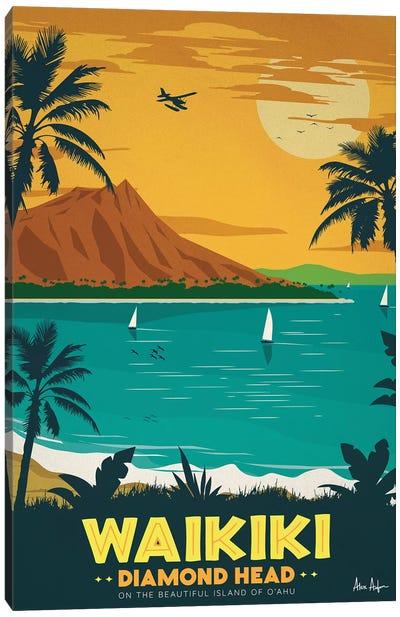 Waikiki Canvas Art Print