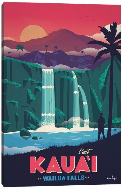 Wailua Falls Canvas Art Print