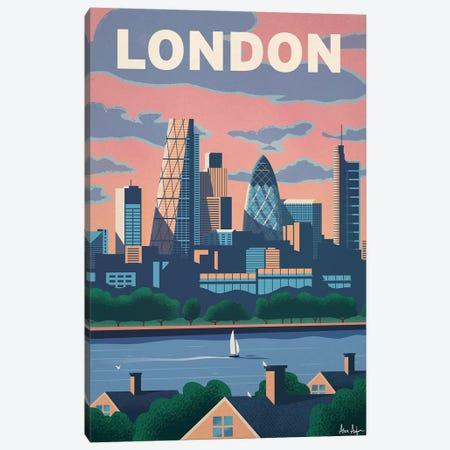 Modern London Canvas Print #IDS79} by IdeaStorm Studios Art Print
