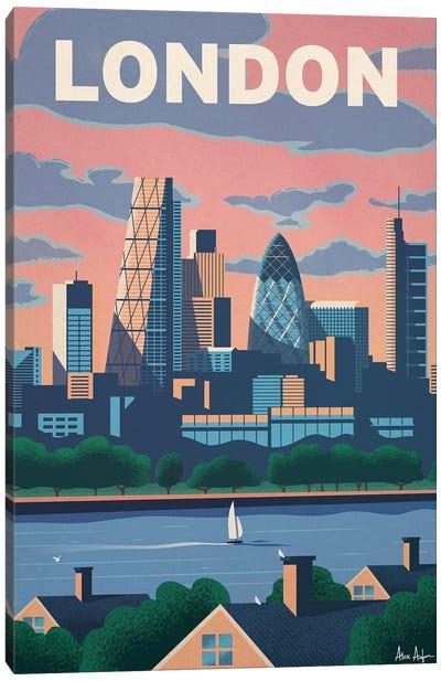 Modern London Canvas Art Print