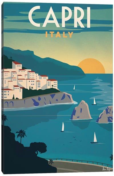 Capri Canvas Art Print