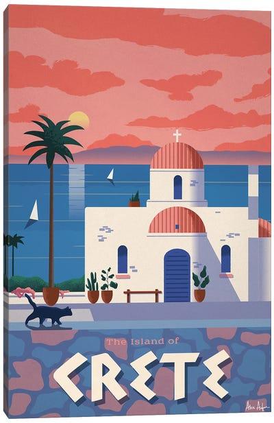 Crete Canvas Art Print