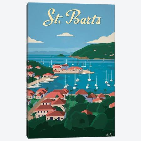 St. Barts Canvas Print #IDS81} by IdeaStorm Studios Canvas Wall Art