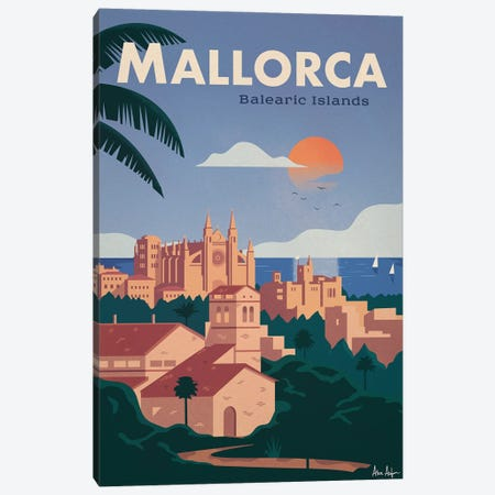 Mallorca Canvas Print #IDS82} by IdeaStorm Studios Canvas Art