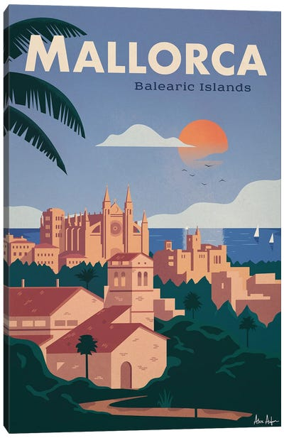 Mallorca Canvas Art Print