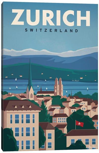Zurich Canvas Art Print