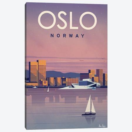 Oslo Canvas Print #IDS85} by IdeaStorm Studios Art Print