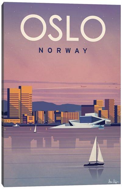 Oslo Canvas Art Print