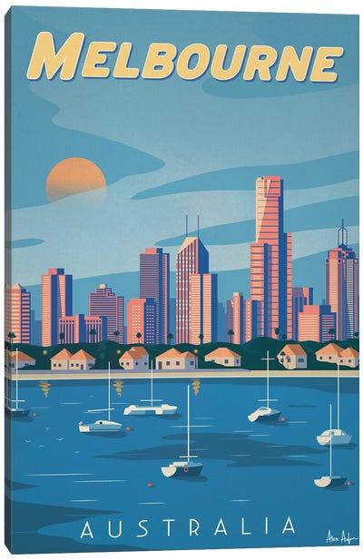 Melbourne Canvas Art Print
