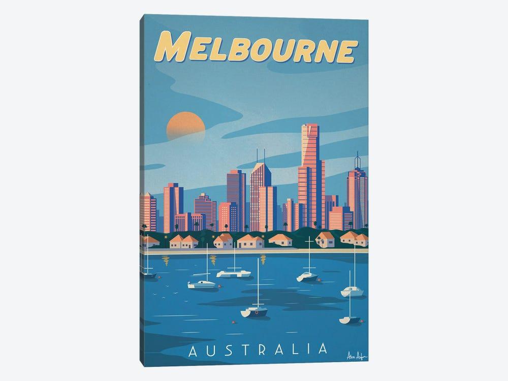 Melbourne by IdeaStorm Studios 1-piece Canvas Artwork