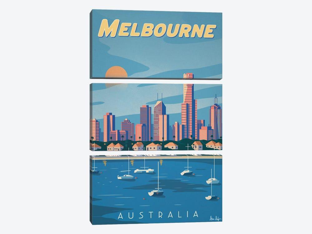 Melbourne by IdeaStorm Studios 3-piece Canvas Art
