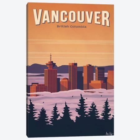 Vancouver Canvas Print #IDS88} by IdeaStorm Studios Canvas Art