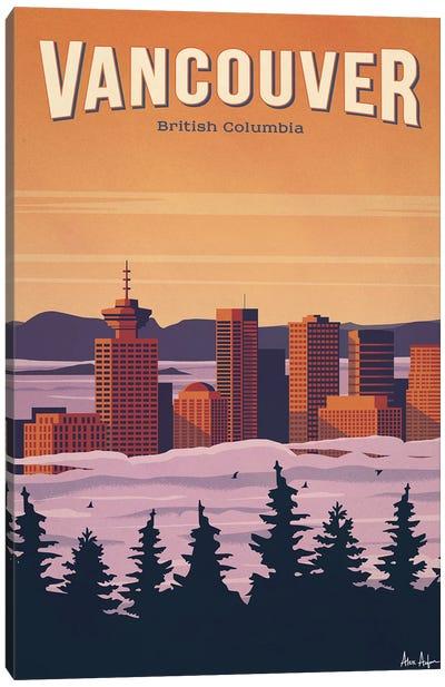 Vancouver Canvas Art Print