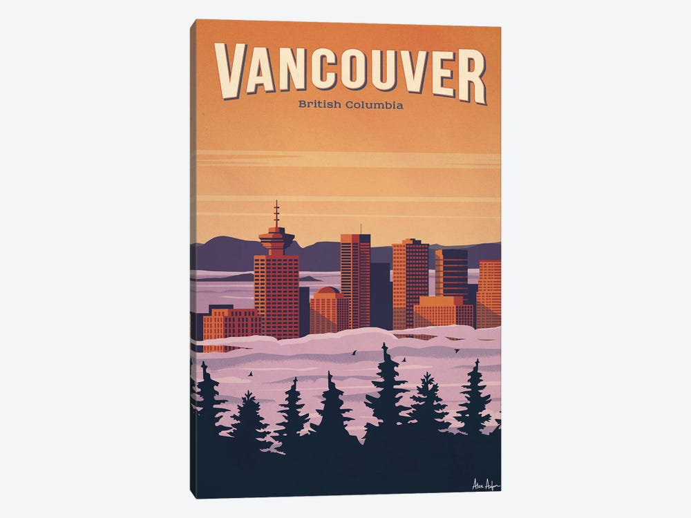 Vancouver by IdeaStorm Studios 1-piece Canvas Wall Art