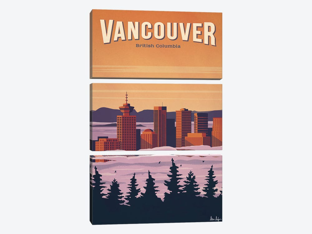 Vancouver by IdeaStorm Studios 3-piece Canvas Art
