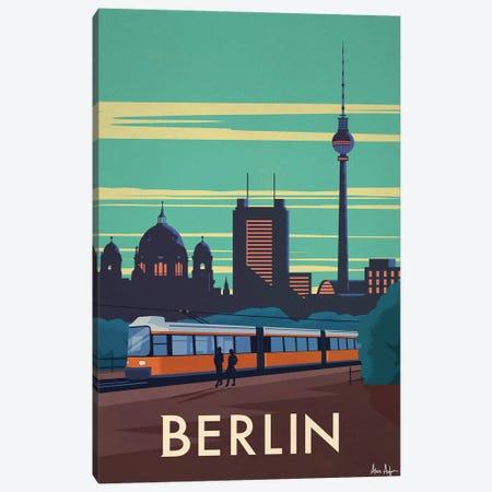 Berlin Canvas Print #IDS89} by IdeaStorm Studios Canvas Wall Art
