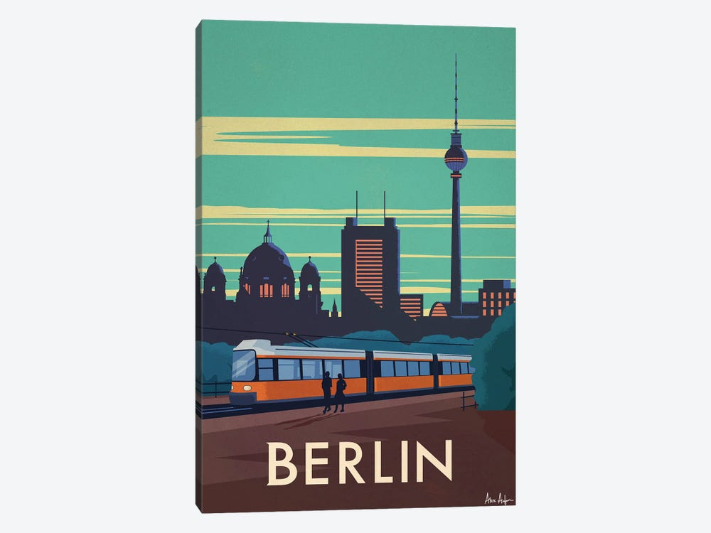 Berlin by IdeaStorm Studios 1-piece Canvas Art Print