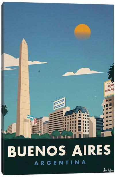 Buenos Aires Canvas Art Print