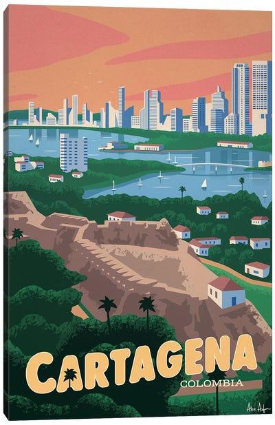 Cartagena Canvas Art Print