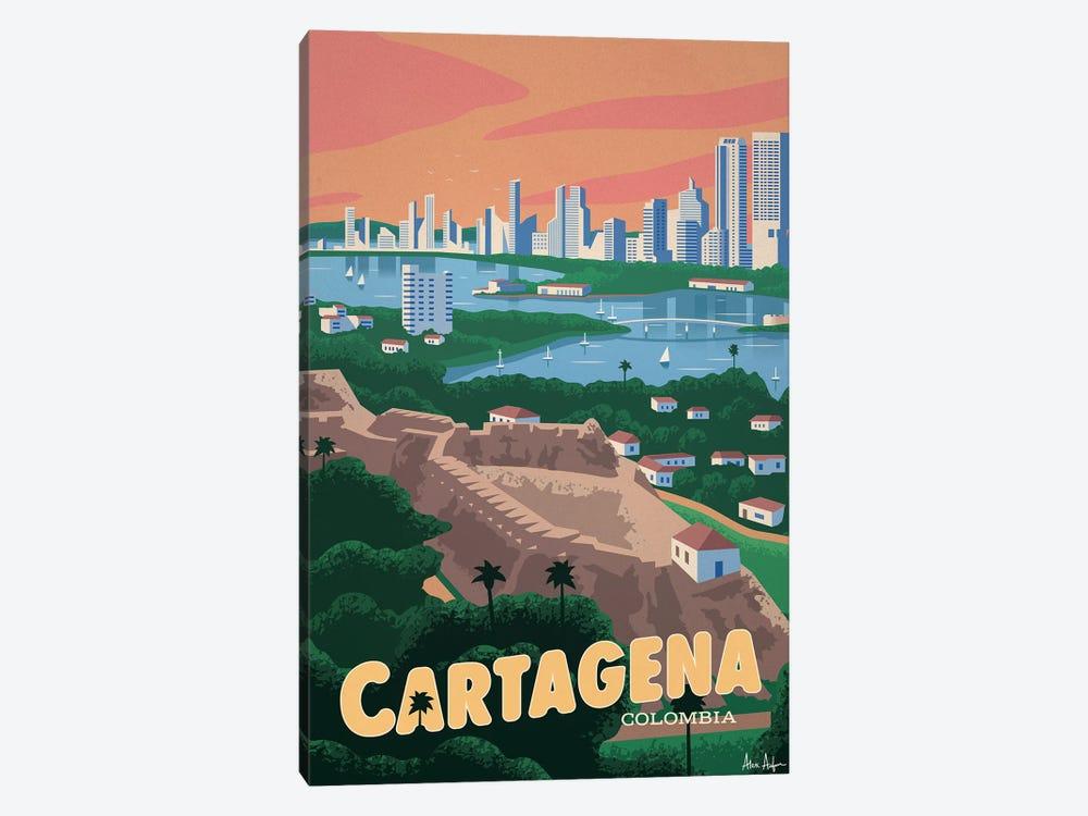Cartagena by IdeaStorm Studios 1-piece Canvas Artwork