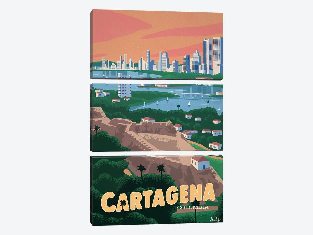 Cartagena by IdeaStorm Studios 3-piece Canvas Artwork