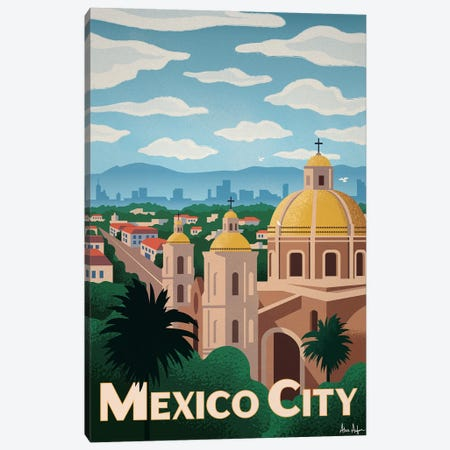 Mexico City Canvas Print #IDS92} by IdeaStorm Studios Canvas Art Print